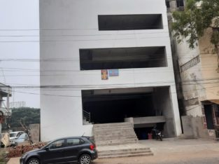 Cellar + G +3 Commercial Building Space For Rent Or Lease at Anjayya Road, Ongole.