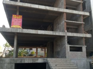 Cellar + G +2 Commercial Building For Rent, Beside State Bank Of India, Gaigalapadu Branch, Sarpavaram Road, Kakinada