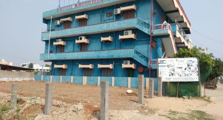 G +2 Commercial Building Space for Rent at Friends Colony, Srikakulam Town.
