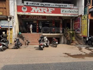 G +2 Commercial Building – Second Floor Space For Rent at Governorpet, Vijayawada