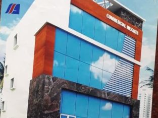 G +4 Commercial Building For Lease / Rent at 50 Buildings, Bhaskar Nagar, Kakinada