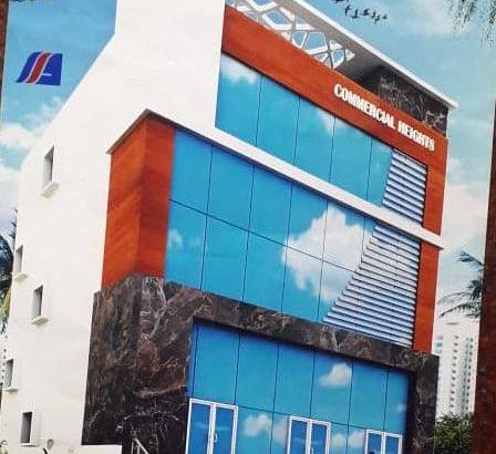 G +4 Commercial Building For Lease / Rent at 50 Buildings, Bhaskar Nagar, Kakinada