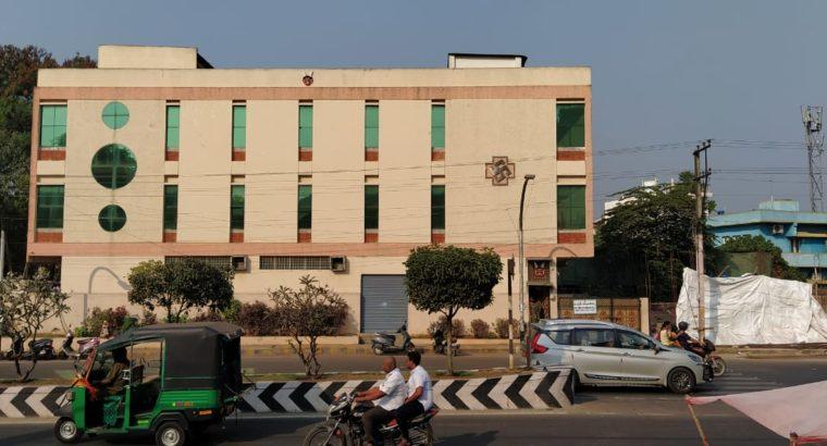Cellar + G +2 Commercial Building For Rent at Gunadala, Eluru Road, Vijayawada.