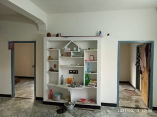 2BHK House for Rent at Ramaraopeta, Kakinada.