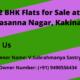 2BHK Flats for Sale at Narasanna Nagar, Kakinada.