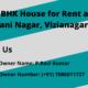 2 BHK House for Rent at Pavani Nagar, Vizianagaram.