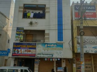 G +3 Commercial Building Space For Rent at Chinna Bazar Road, Srikakulam.