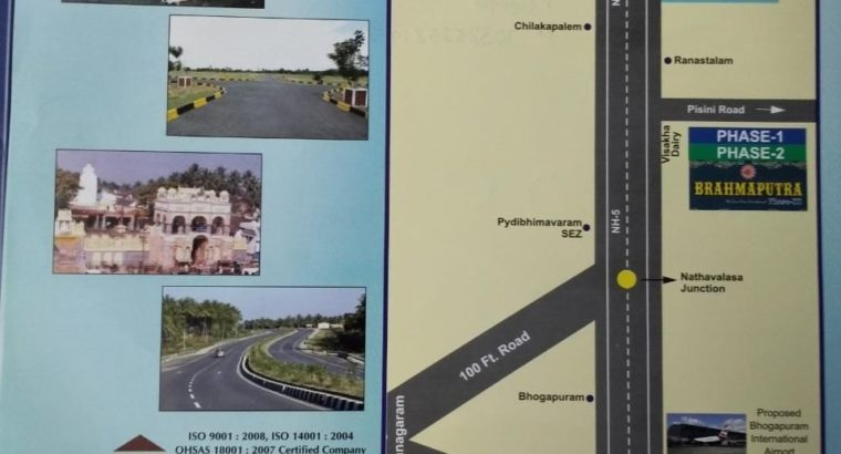 Residential Open Plots for Sale at Pisini Village, Pydi Bheemavaram.