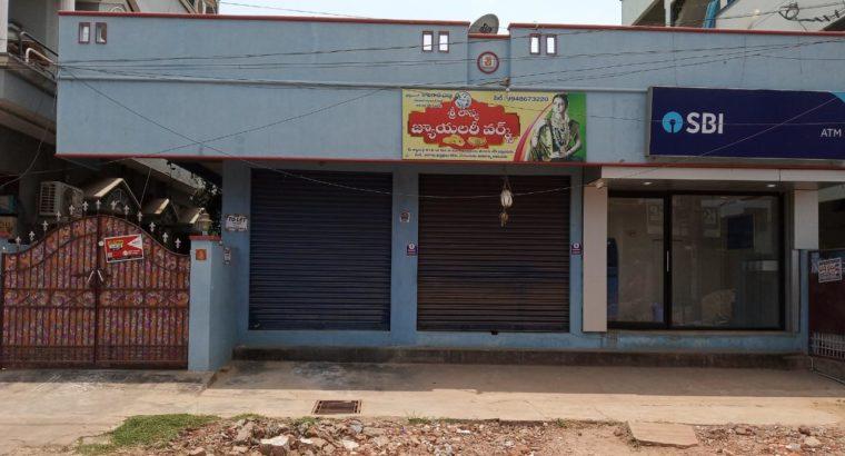 Commercial Single Shop For Rent at Rayudupalem, Kakinada.