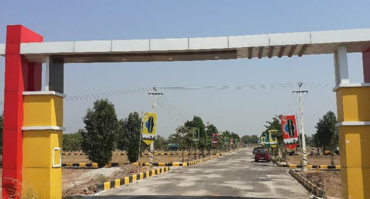 DTCP Approved Residential Open Plots For Sale At Hyderabad Yadadri Warangal Highway Facing