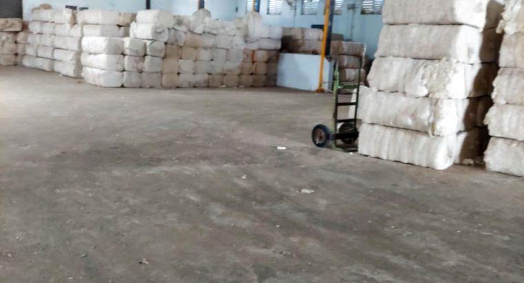 Commercial Go-Down For Lease / Rent at Karnoothala, Guntur to Prathipadu Road