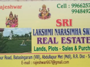 Sri Lakshmi Narasimha Swamy Real Estates Services