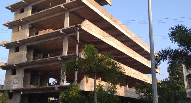 Stilt + G +3 Commercial Building For Rent Near Kims Road, Srikakulam