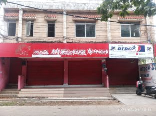 G +1 Commercial Building Shop For Rent at Main Road, Kakinada