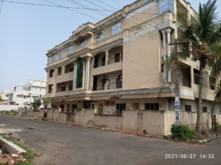 G +3 Commercial Building For Rent at Sasikanth Nagar, Kakinada.