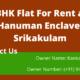3BHK Flat For Rent at Hanuman Enclave, Srikakulam