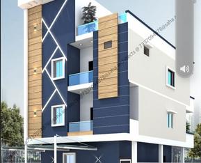 3 Floors Residential Building For Sale at Chinthala valasa, Vizianagaram.
