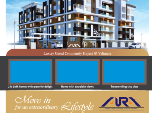 2BHK and 3BHK Flats For Sale at HMDA Gated community, Shamirpet Hyderabad