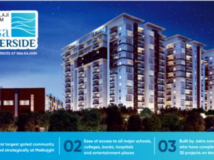 Luxury Residence Flats for Sale at Malkajgiri, Hyderabad.