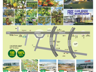100 Acres Of Farm Houses, Resorts, Fruits For Sale at SRIGANDHAM, Sadasivapet, Mumbai Highway.