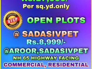 Open Plots For Sale Near Sangareddy & Sadasivpeta