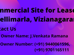 Commercial Site for Lease at Nellimarla, Vizianagaram