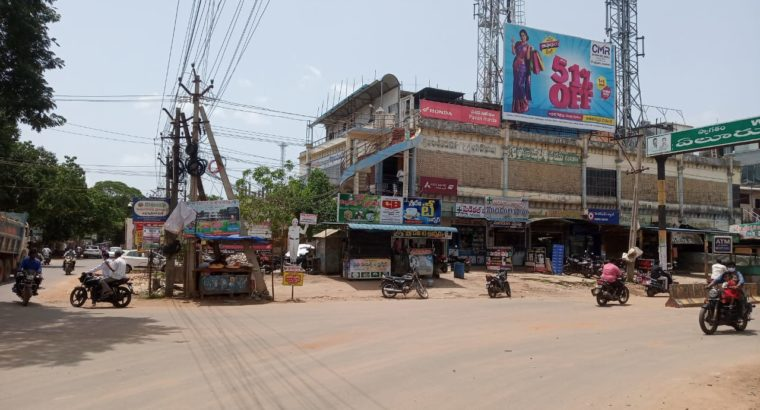 G +2 Commercial Building Space For Rent Near Kandrikagudem Centre, Eluru