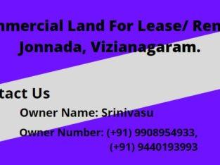 Commercial Land For Lease/ Rent at Jonnada, Vizianagaram.