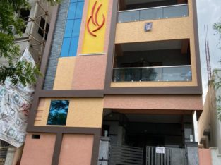 G +3 Building with 2BHK & 1 BHK Portions For Rent at Cherlopalli, Tirupati