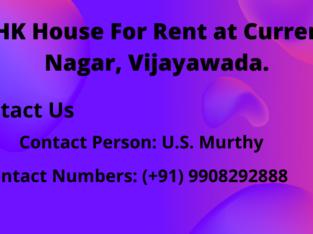 2BHK House For Rent at Currency Nagar, Vijayawada.